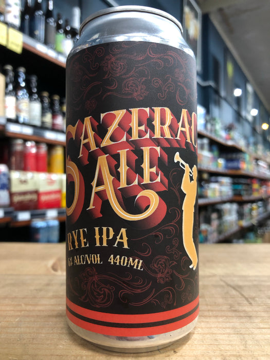 Hargreaves Hill Sazerac Ale Rye IPA 440ml Can