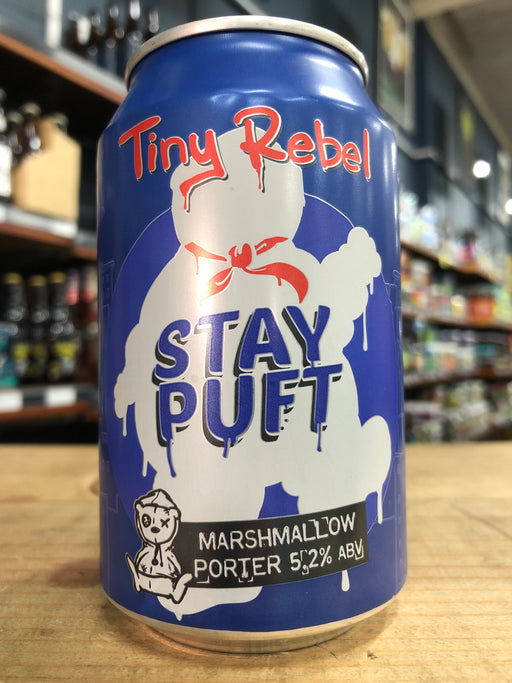 Tiny Rebel Stay Puft Marshmallow Porter 330ml Can