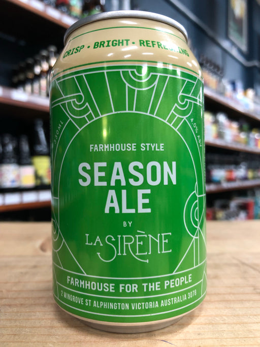 La Sirène Season Ale 330ml Can
