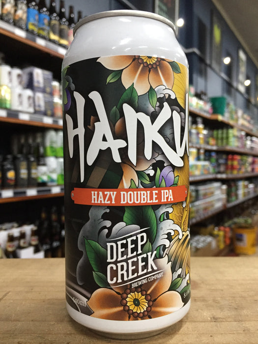 Deep Creek Haiku Hazy Double IPA 440ml Can