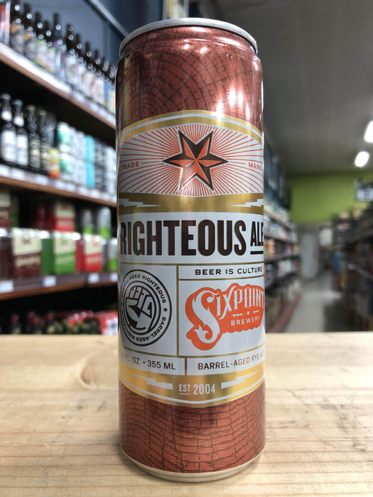 Sixpoint Barrel Aged Righteous Ale 355ml Can