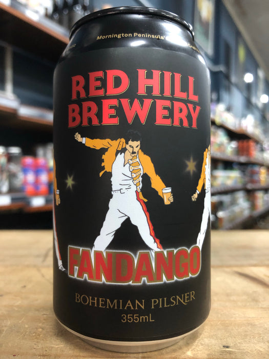 Red Hill Fandango Bohemian Pilsner 330ml Can