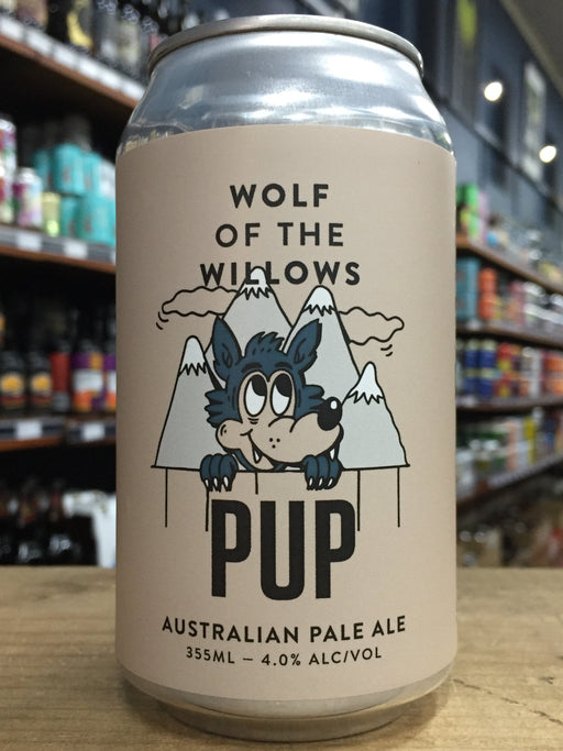 Wolf of The Willows Wolf Pup Pale Ale 355ml can