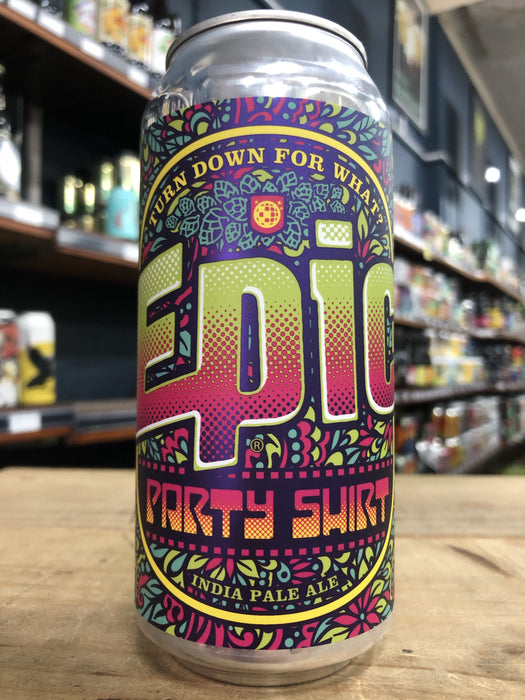 Epic Party Shirt IPA 440ml Can