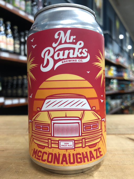 Mr Banks McConaughaze DDH Pale Ale 355ml Can