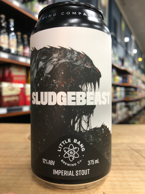 Little Bang Sludgebeast Imperial Stout 375ml Can