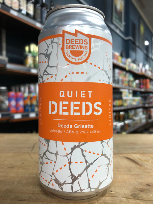 Quiet Deeds Grisette 440ml Can