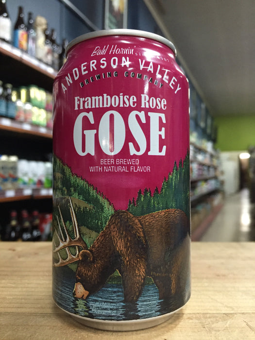 Anderson Valley Framboise Rose Gose 355ml Can