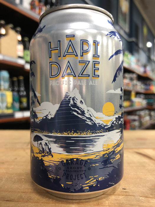 Garage Project Hapi Daze Pacific Pale Ale 330ml Can