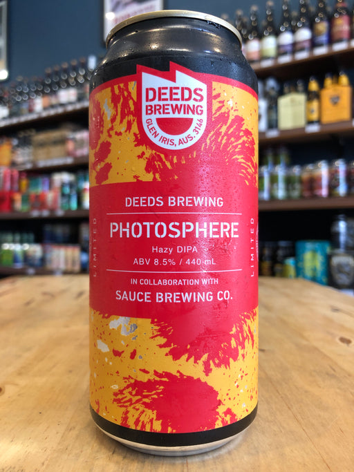 Deeds / Sauce Photosphere Hazy DIPA 440ml Can