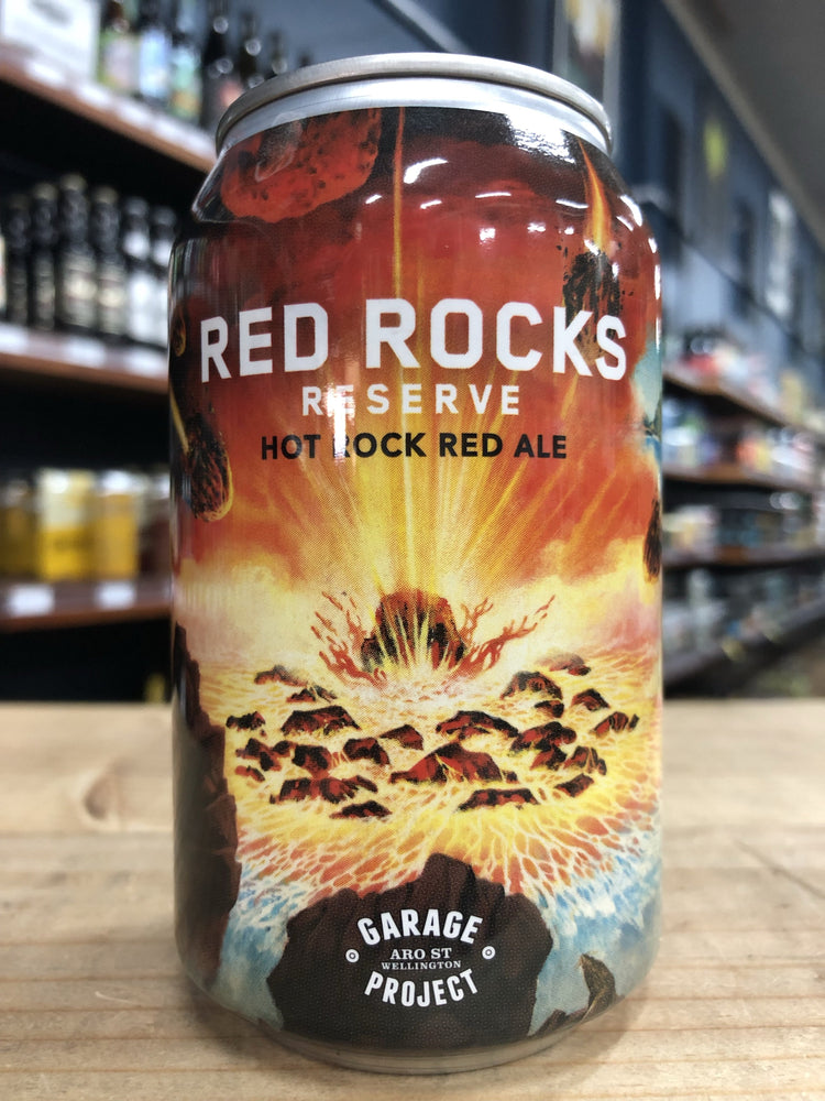 Garage Project Red Rocks Reserve Red Ale 330ml Can
