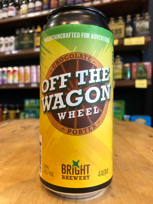 Bright Off the Wagon Wheel Porter 440ml Can