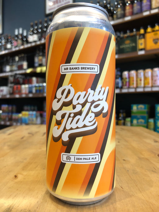 Mr Banks Party Tide DDH Pale 500ml Can