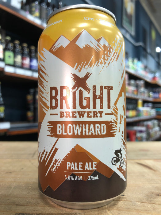 Bright Brewery Blowhard Pale Ale 375ml Can