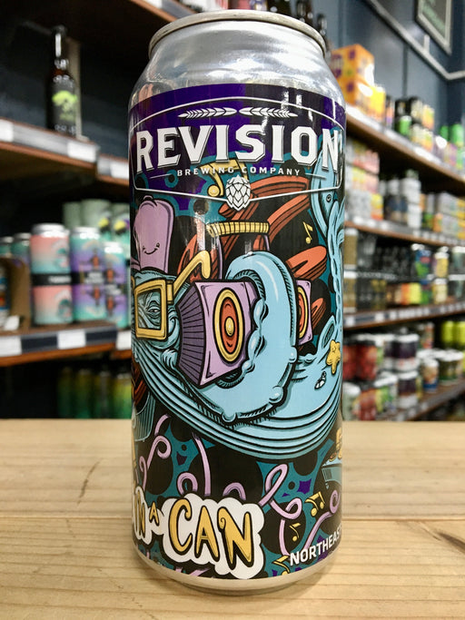 Revision Hops In a Can Hazy Triple IPA 473ml Can