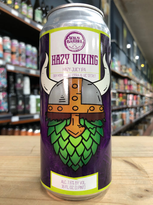 Wild Barrel Hazy Viking 473ml Can
