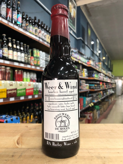De Molen Weer & Wind Bourbon BA 330ml