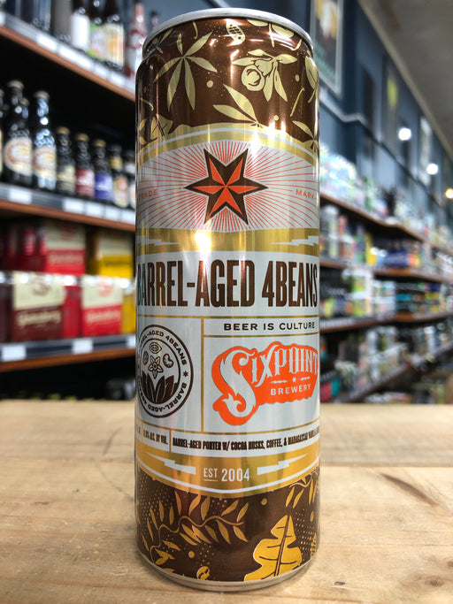 Sixpoint Barrel-Aged 4Beans Imperial Porter 355ml Can