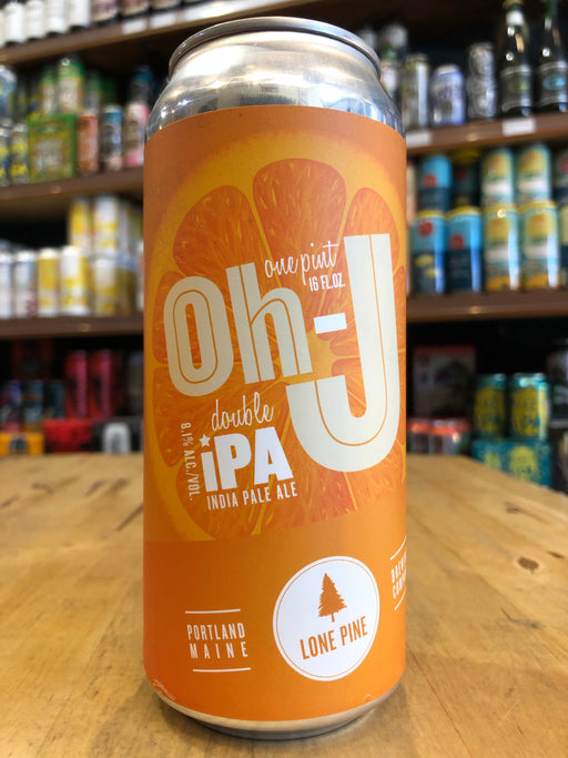 Lone Pine Oh-J Double IPA 473ml Can