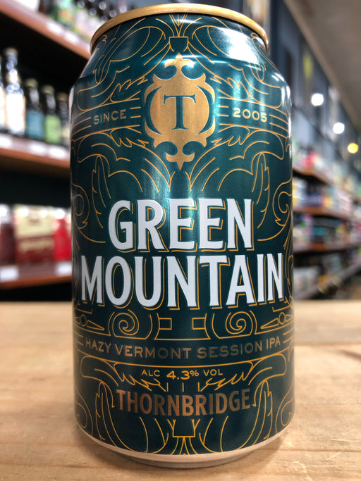 Thornbridge Green Mountain Hazy Session IPA 330ml Can