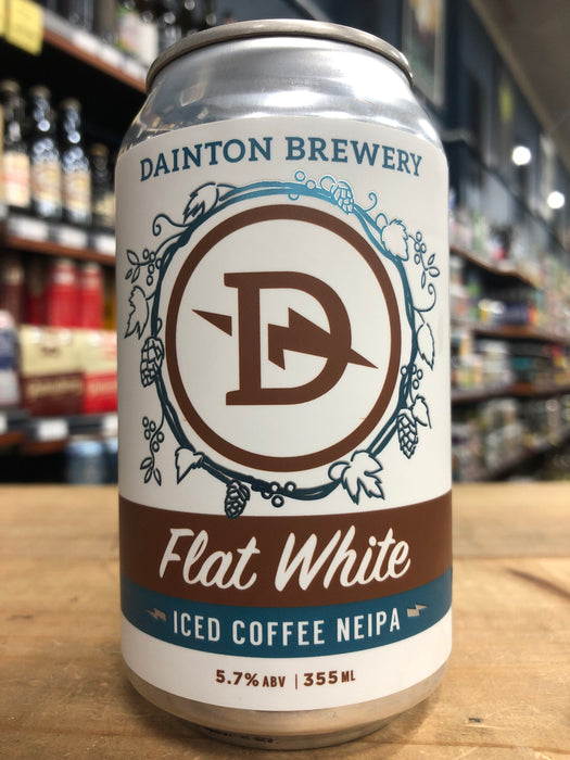 Dainton Flat White Iced Coffee NEIPA 355ml Can