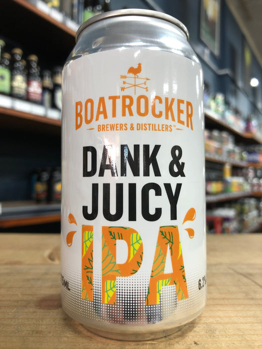 Boatrocker Dank & Juicy IPA 375ml Can