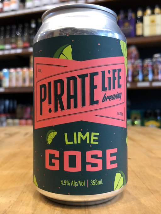 Pirate Life Lime Gose 355ml Can