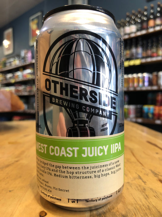 Otherside West Coast Juicy IPA 375ml Can