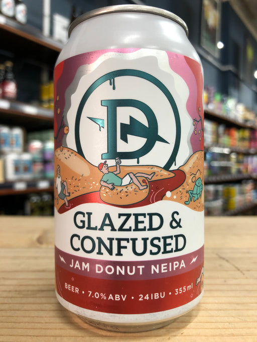 Dainton Glazed & Confused Jam Donut NEIPA 355ml Can