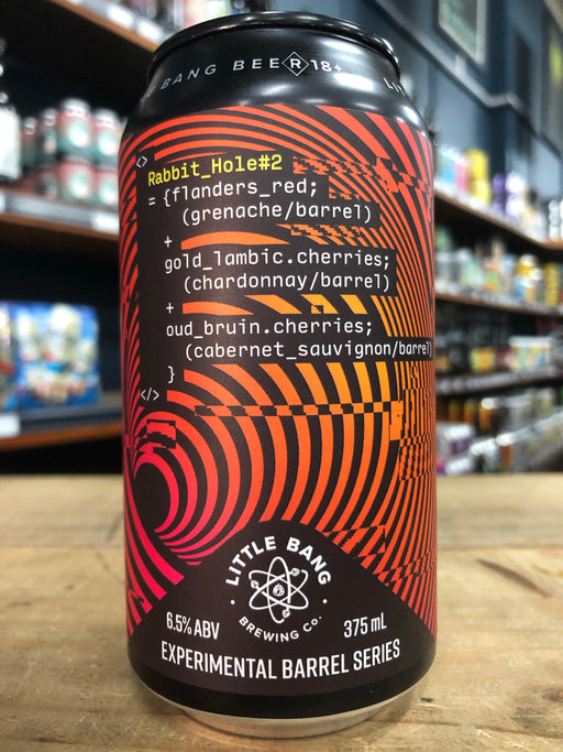 Little Bang Rabbit Hole #2 - Experimental Barrel Series 375ml Can