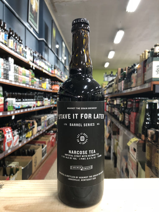 Against the Grain Narcose Tea Imperial Stout (Stave It For Later) 750ml - Purvis Beer