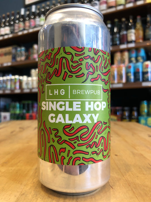 Left Handed Giant Single Hop Galaxy Pale 440ml Can