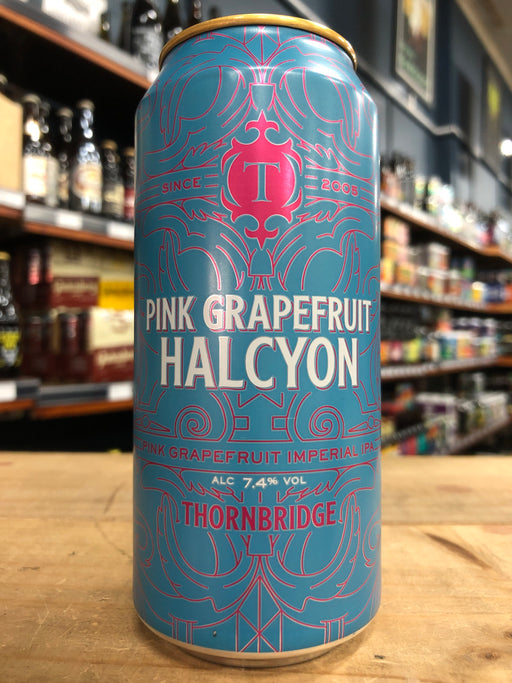 Thornbridge Pink Grapefruit Halcyon Double IPA 440ml Can