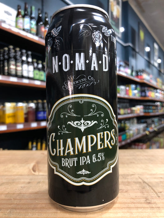 Nomad Champers Brut IPA 500ml Can