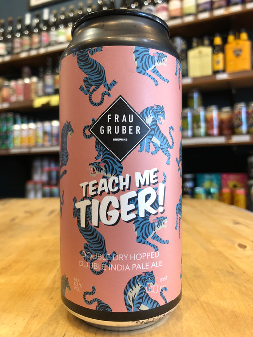 FrauGruber Teach Me Tiger 440ml Can