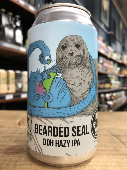 Hop Nation / Lervig Bearded Seal DDH IPA 375ml Can