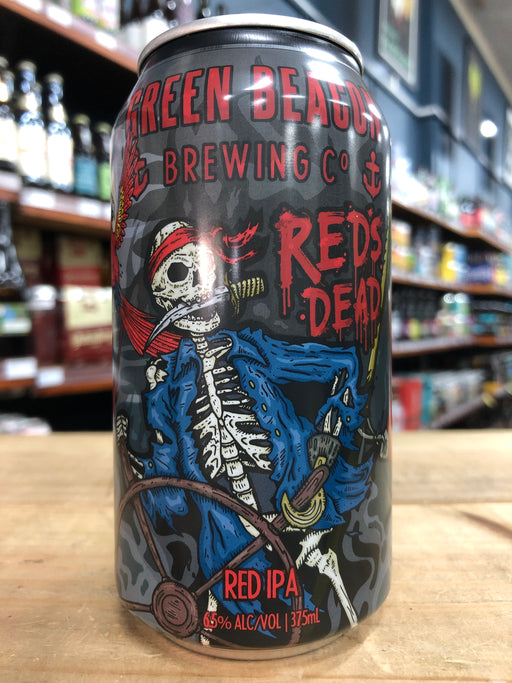 Green Beacon Red's Dead Red IPA 375ml Can