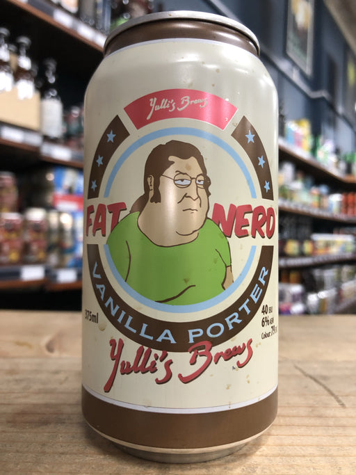 Yulli's Fat Nerd Vanilla Porter 375ml Can