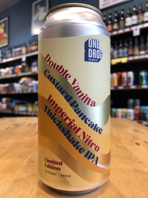 double vanilla one drop | Purvis Beer
