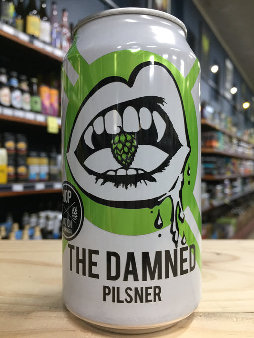 Hop Nation The Damned Pils 375ml Can