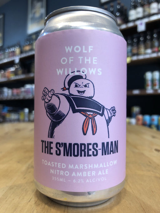 Wolf of the Willows The Smores-man 355ml Can