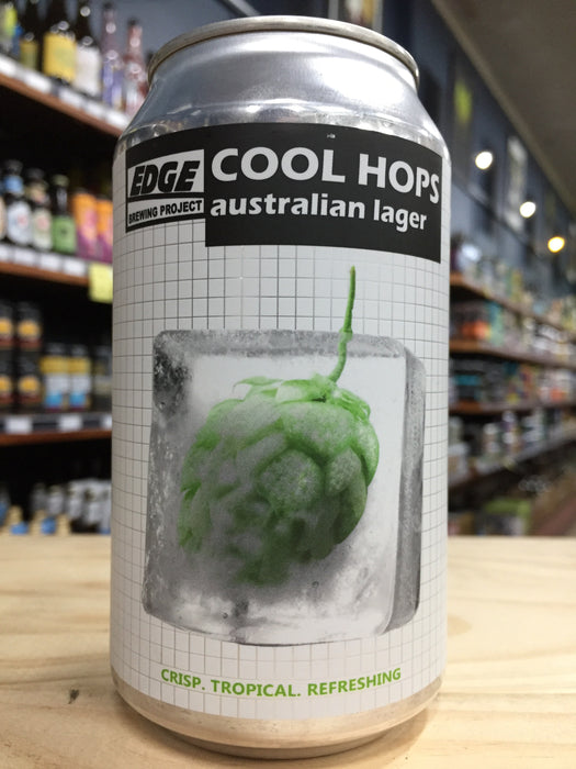 Edge Cool Hops Lager 330ml Can