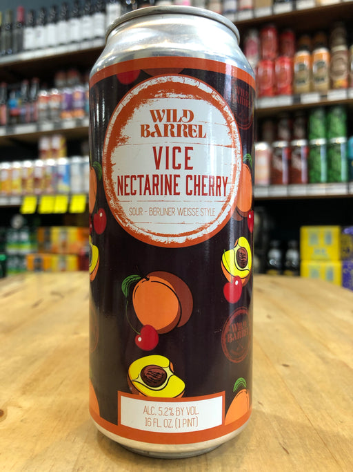 Wild Barrel Vice w/ Nectarine Cherry 473ml Can