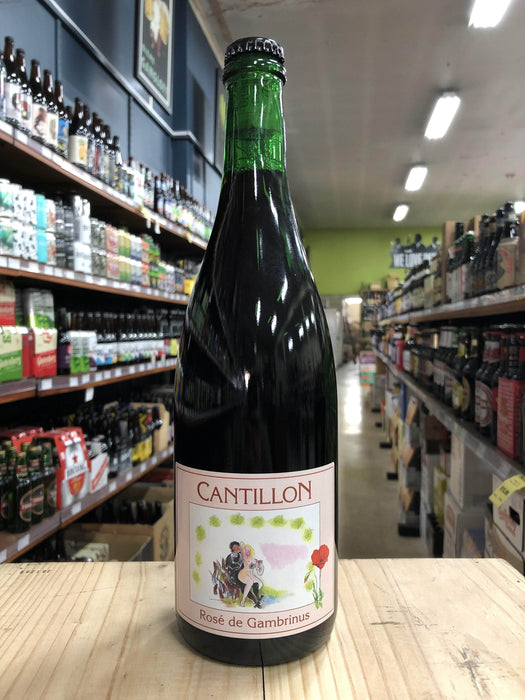 Cantillon Rosé De Gambrinus 750ml - Purvis Beer