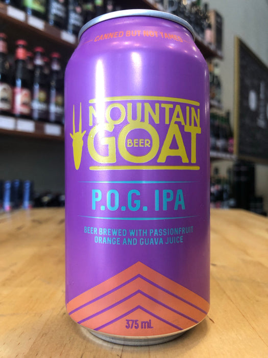 Mountain Goat P.O.G. IPA 375ml Can