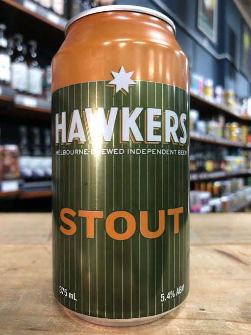Hawkers Stout 375ml Can