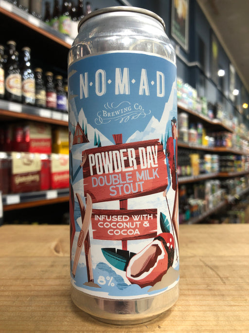 Nomad Powder Day Double Milk Stout 500ml Can
