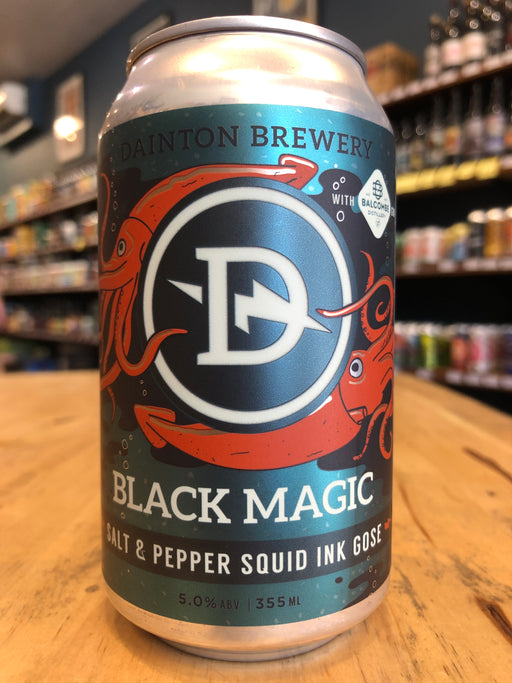 Dainton Black Magic Salt & Pepper Squid Ink Gose 355ml Can