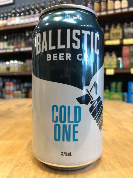 Ballistic Cold One 375ml Can