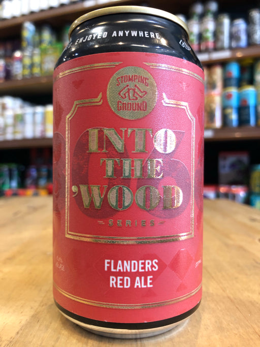 Stomping Ground Into the Wood: Flanders Red Ale 355ml Can